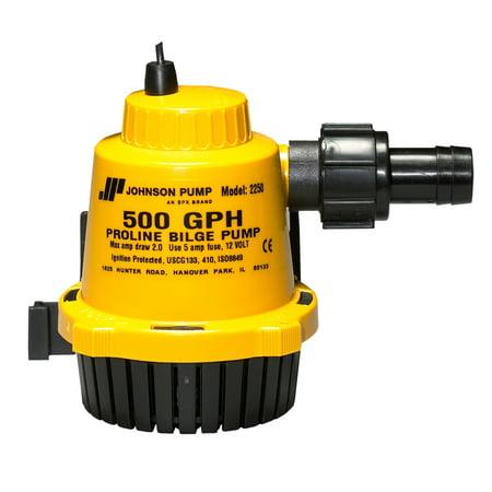 Johnson 22502 500 GPH Proline Bilge Pump