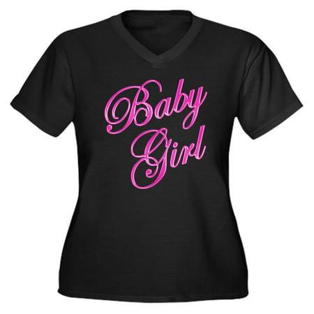 e2d67c0bb CafePress - Baby Girl Plus Size T Shirt - Women's Plus Size V-Neck Dark