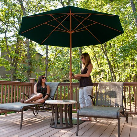 Frankford Umbrellas Monterey Collection FtSolid Commercial - Commercial table umbrellas