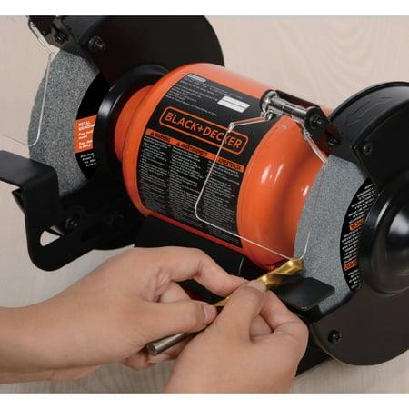 New 6 Inch Black And Decker Single Speed Bench Grinder Power Tool Ebay
