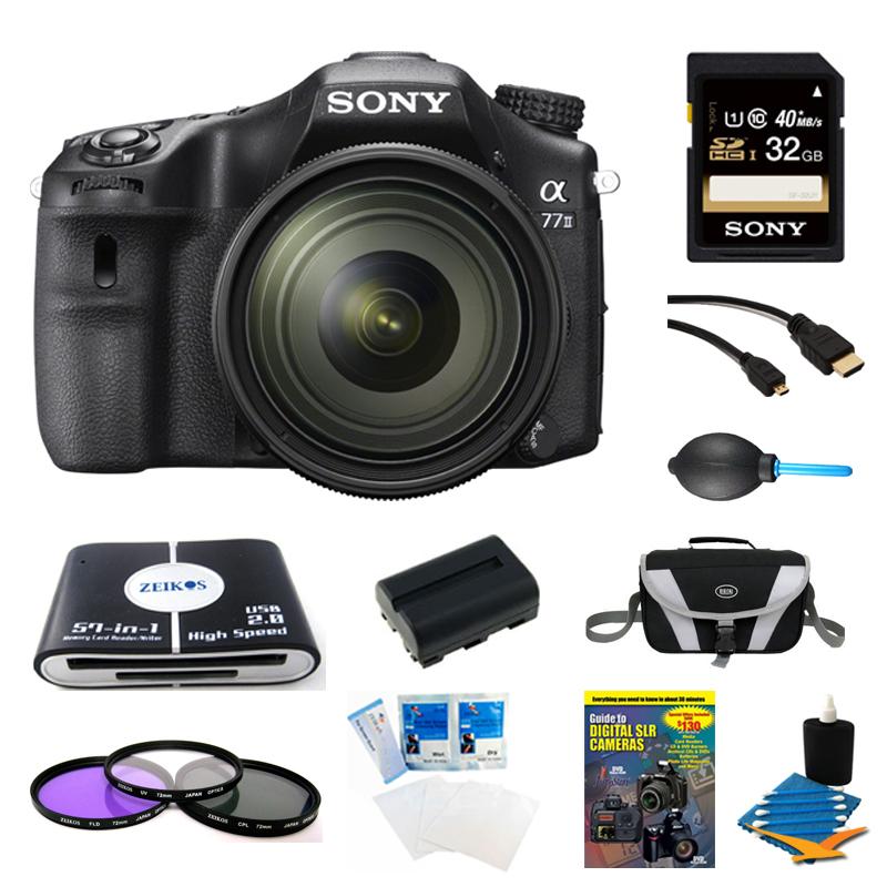 Sony A77II ILC-A77M2Q A77M2Q a77 II Digital SLR Camera wi...