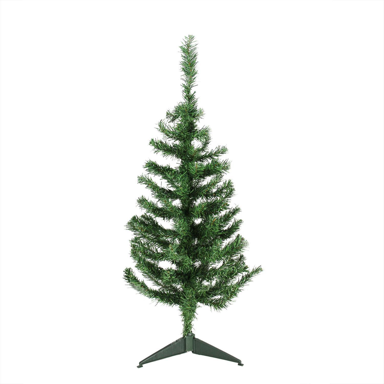 "3' x 18"" Mixed Green Pine Medium Artificial Christmas Tree - Unlit"