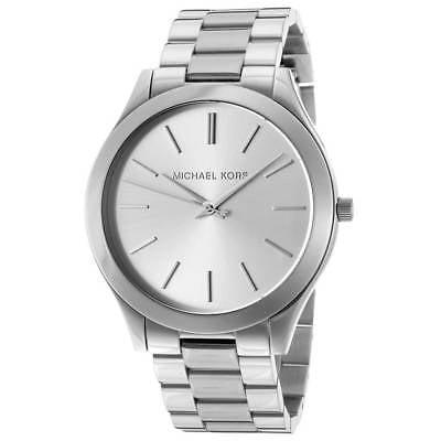 Women's Runway MK3178 Silver Stainless-Steel Quartz Fashion Watch