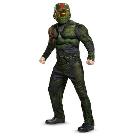 Halo Wars 2 Jerome Muscle Adult Costume - Adult Halo Costume