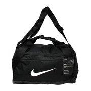 Nike Brasilia Small Duffel Polyester Duffle Bag Hobo Black White