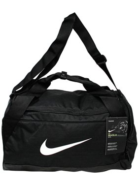 9eeee30eabd226 Product Image Nike Brasilia Small Duffel Polyester Duffle Bag Hobo - Black  / White