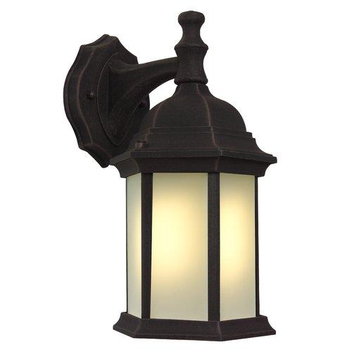 Breakwater Bay Frederica Traditional 1-Light Outdoor Wall Lantern