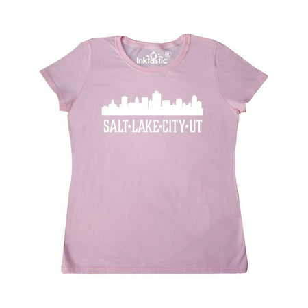 Salt Lake City Utah Skyline UT Cities Women's T-Shirt](Salt Lake City Halloween Party)