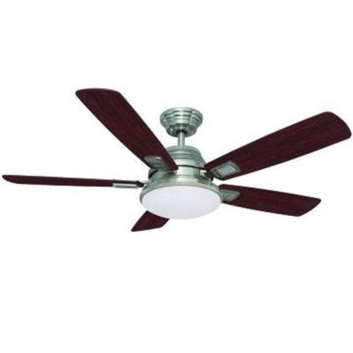 Hampton Bay 52 In. Latham Brushed Nickel Ceiling Fan by Hampton Bay