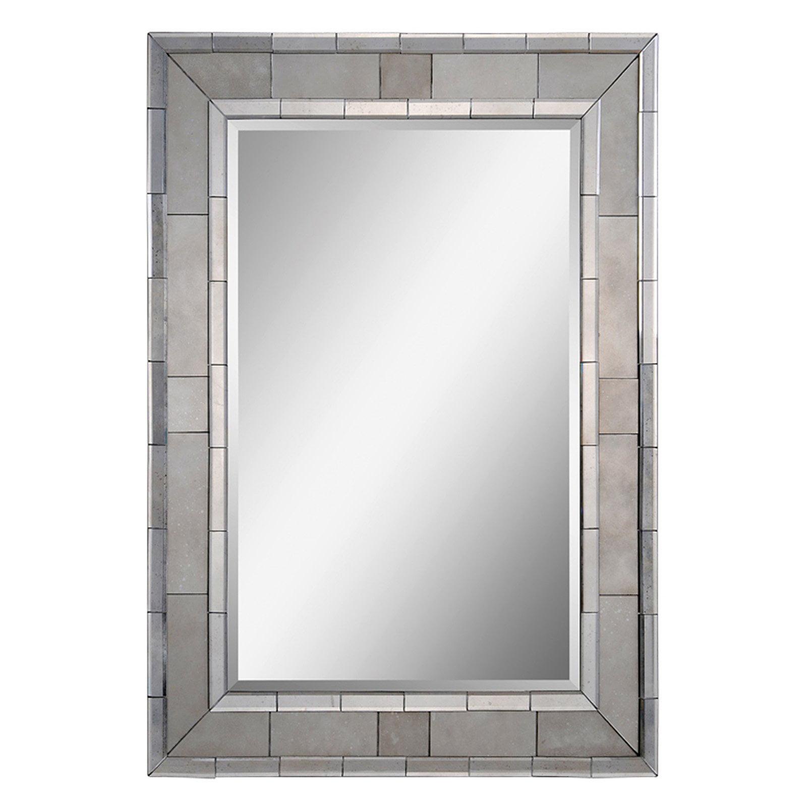 Ren-Wil Glendale Wall Mirror - 35W x 47H in.