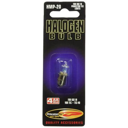 Halogen Tec 40 Dive Light (Replacement Parts, Halogen Bulb), Halogen Replacement Bulb for Tec 40 Incandescent Handheld By Princeton Tec