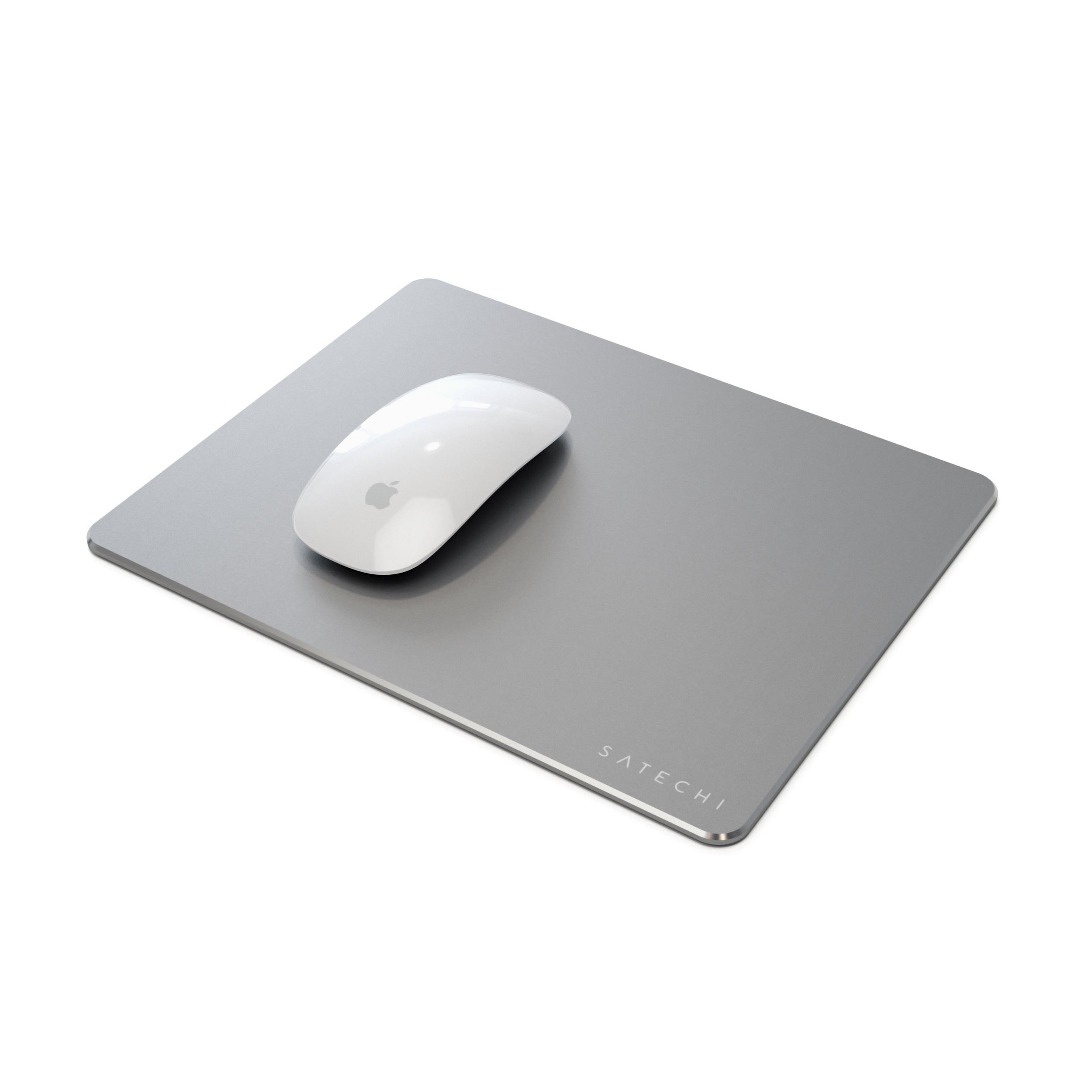 Satechi Aluminum Mouse Pad With Non Slip Rubber Base Space Gray Relay Switch Walmart Com