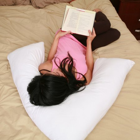 Deluxe Comfort V Side Boomerang Sleeper Pillow Walmart Com