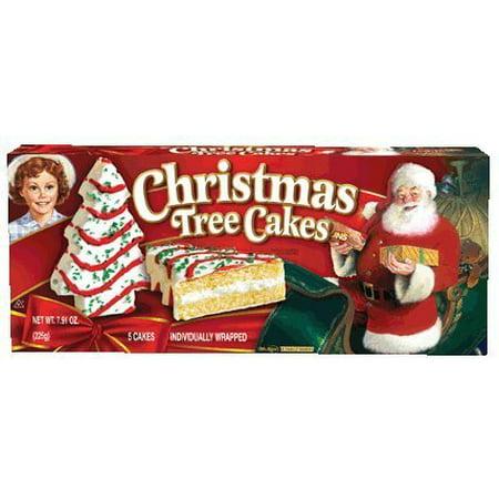 Little Debbie Vanilla Christmas Tree Cakes (2 Pack) ()