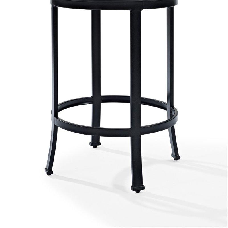 Crosley Windsor Counter Stool In Black
