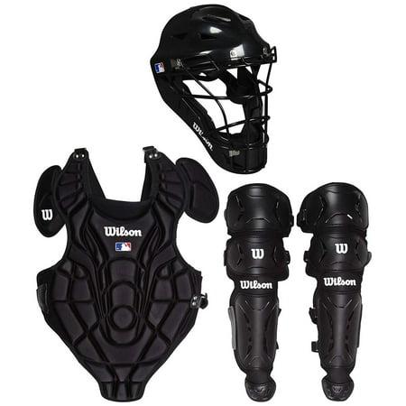 Fastpitch Catchers Gear - Wilson EZ Gear Catchers Kit Size L/XL