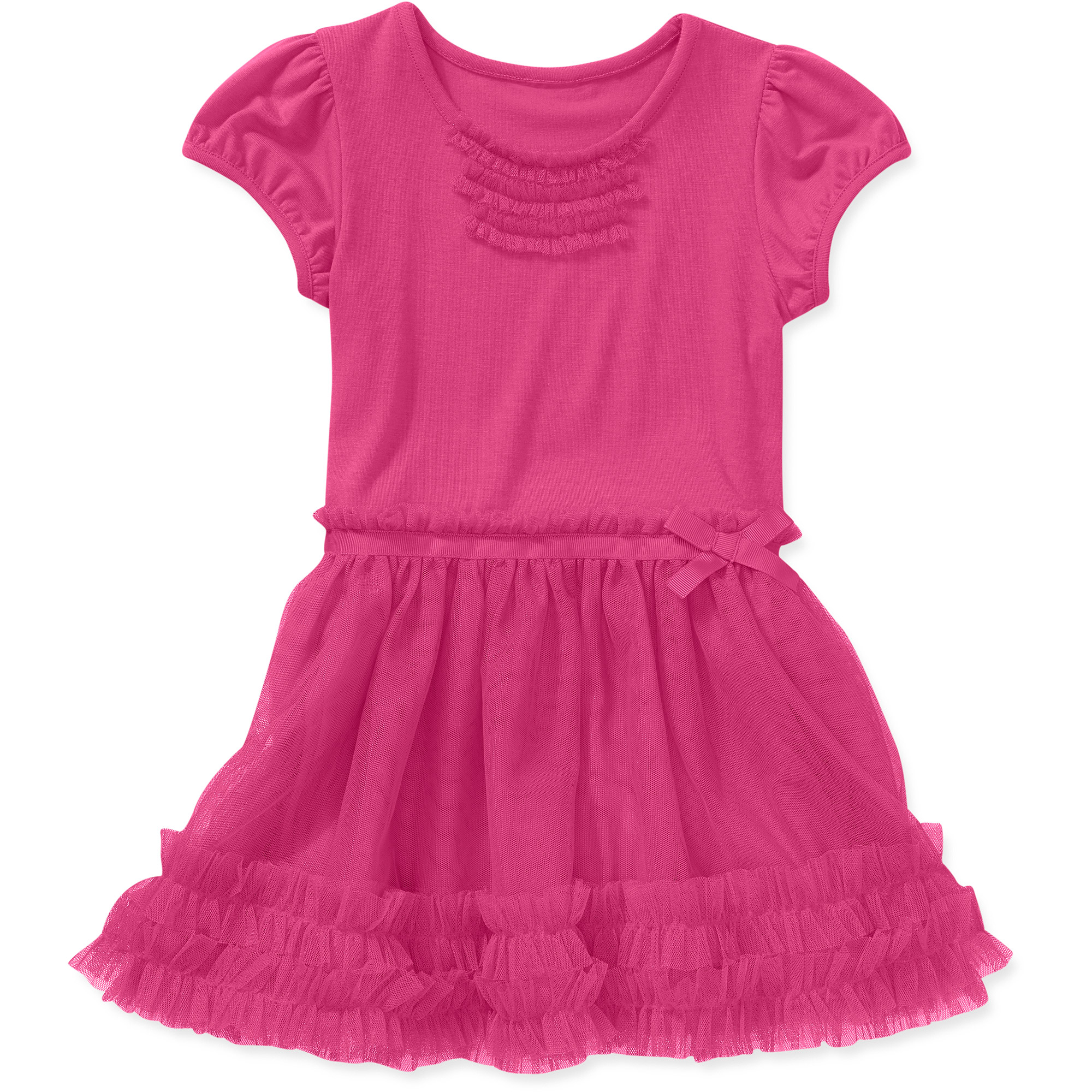 Healthtex Baby Toddler Girl Knit and Tulle Dress