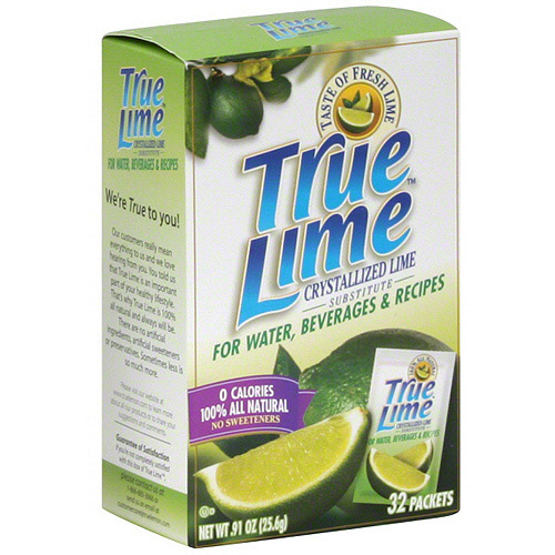 True Lime Crystallized Lime, 32ct (Pack of 12)