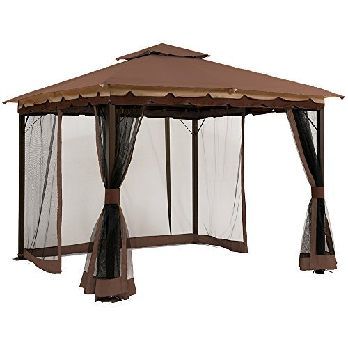 10' x 12' Mosquito Netting for Gazebo Canopy by