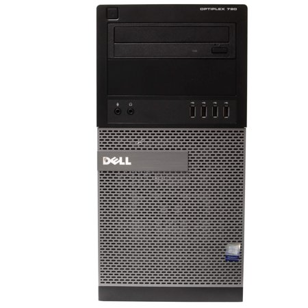 "Dell OptiPlex 790 Tower Computer PC, 3.20 GHz Intel i5 Quad Core Gen 2, 16GB DDR3 RAM, 2TB SATA Hard Drive, Windows 10 Professional 64 bit, 19"" Screen Refurbished - image 3 of 5"