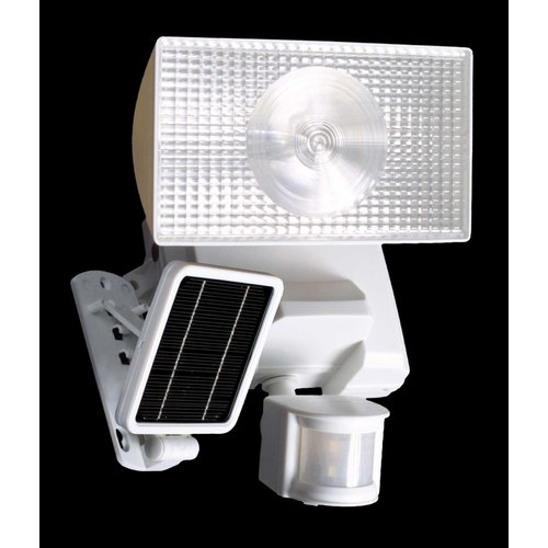 Cooper Lighting MSL180W  15 Watt Solar Powered Motion Detector Halogen Floodlight