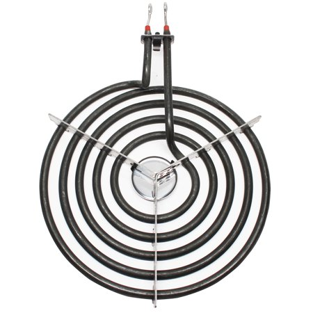 2-Pack Replacement Whirlpool RF263LXTQ3 8 inch 5 Turns Surface Burner Element - Compatible Whirlpool 9761345 Heating Element for Range, Stove & Cooktop - image 3 of 4