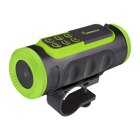 Impecca ASM330BTG Bluetooth Bicycle Speaker With Headlight (Bicycle Headlamp)