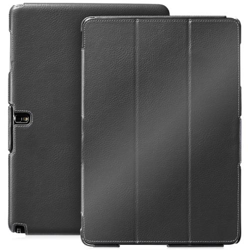 GreatShield Samsung Galaxy Tab Pro/Note Pro 12.2 Case [VANTAGE] Slim Leather Cover with Auto Sleep/Wake (Black)