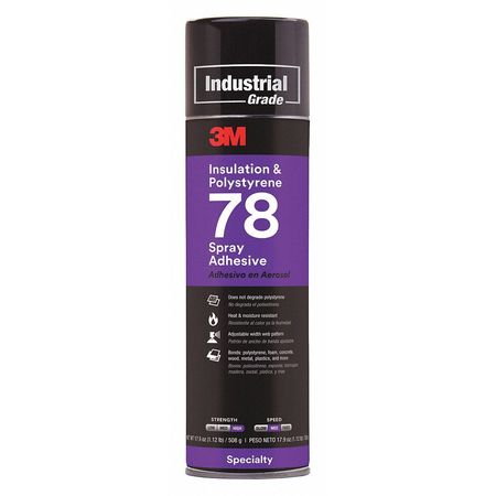 Spray Adhesive,24 oz. by 3M