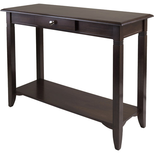 Nolan Hall Console Table, Cappuccino