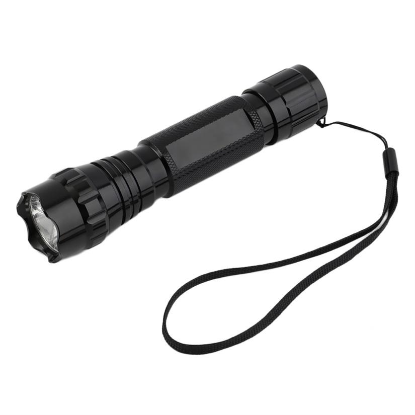 Portable UV WF-501B LED Blacklight Flashlight Aluminum Em...