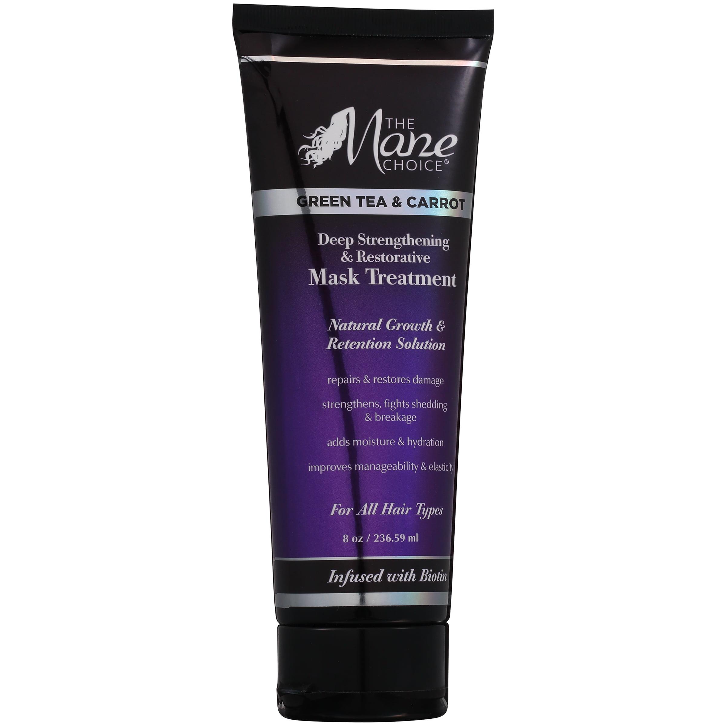 The Mane Choice® Deep Strengthening & Restorative Mask Treatment Green Tea & Carrot 8 oz. Tube