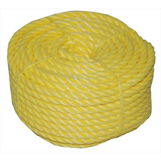 T. W.  Evans Cordage Twisted Polypro Rope Coilette