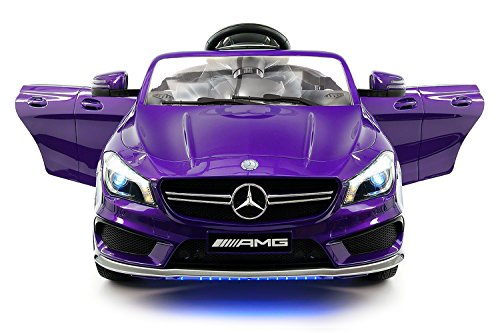 2018 Mercedes Benz CLA 12V Ride On Motorized Cars Powered Wheels W  Remote, Dining Table, Leather Seat, LED... by