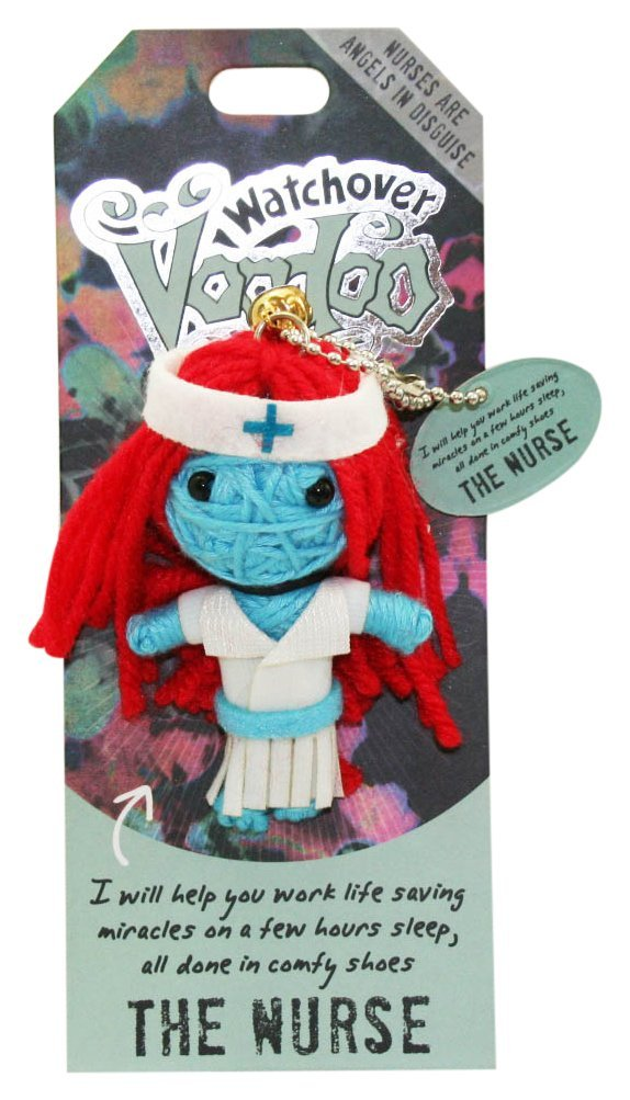 """Watchover Voodoo Doll The Hairdresser 3/"""" New Lucky Charm"""
