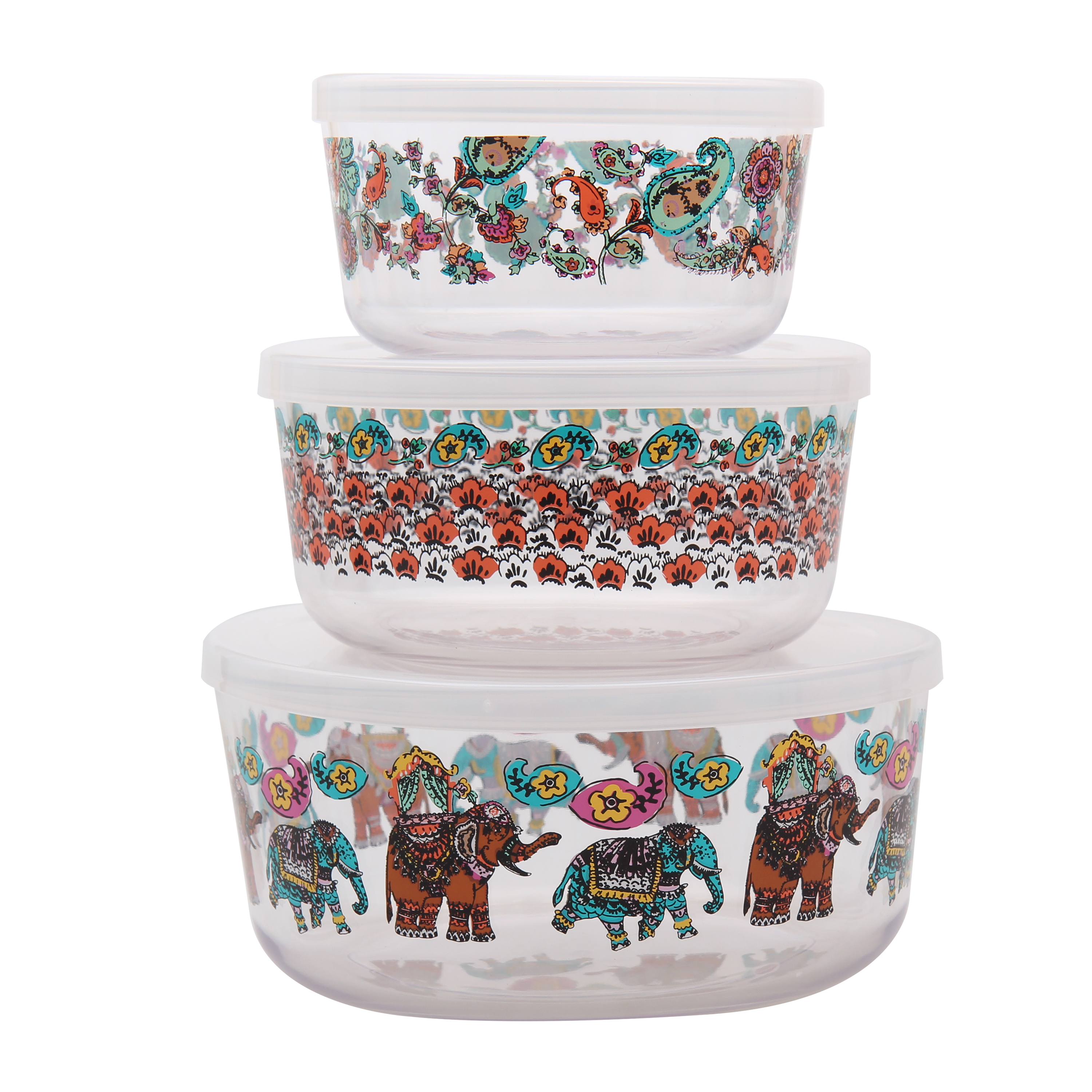 Mainstays Mumbai 3 Piece Bowl Set