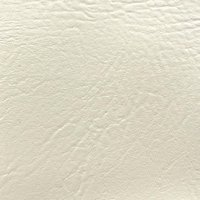 """Ottertex Vinyl Fabric Faux Leather Pleather Upholstery 54"""" Wide by The Yard (White)"""