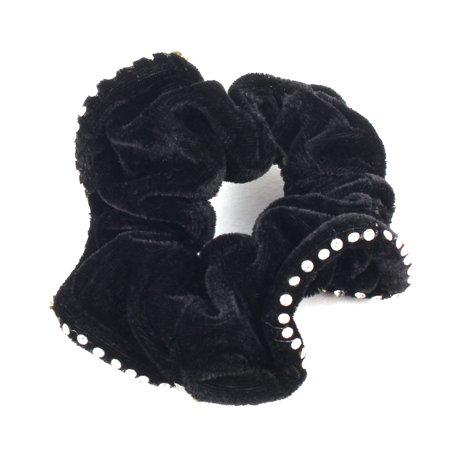 Faux Rhinestone Decor Stretchy Band DIY Hairstyle Ponytail Hairband (Band Rhinestone Decor)