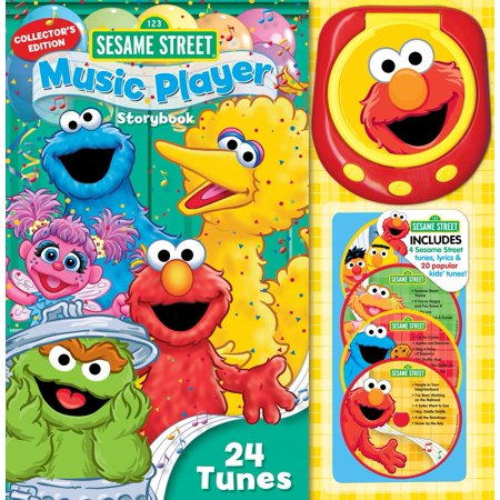 Sesame Street Music Player Storybook: Collector's Edition (Collector's) (Hardcover)