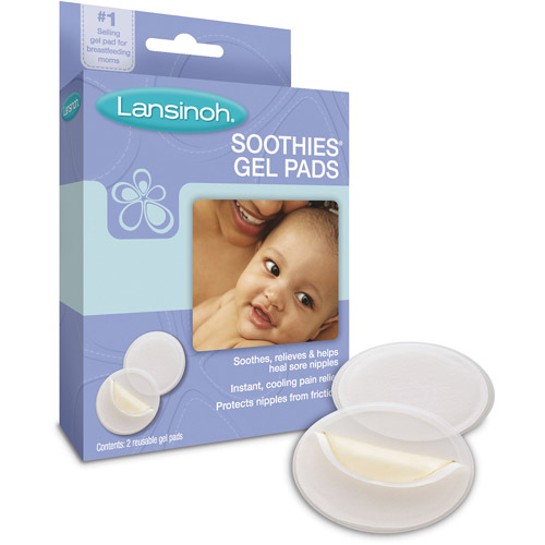 Lansinoh Soothies Gel Nursing Pads, 2 Reusable Gel Pads