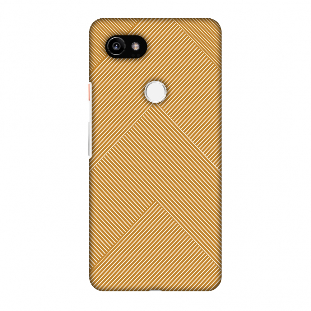 Google Pixel 2 XL Case, Premium Handcrafted Designer Hard Shell Snap On Case Printed Back Cover with Screen Cleaning Kit for Google Pixel 2 XL, Slim, Protective - Carbon Fibre Redux Desert Sand 4