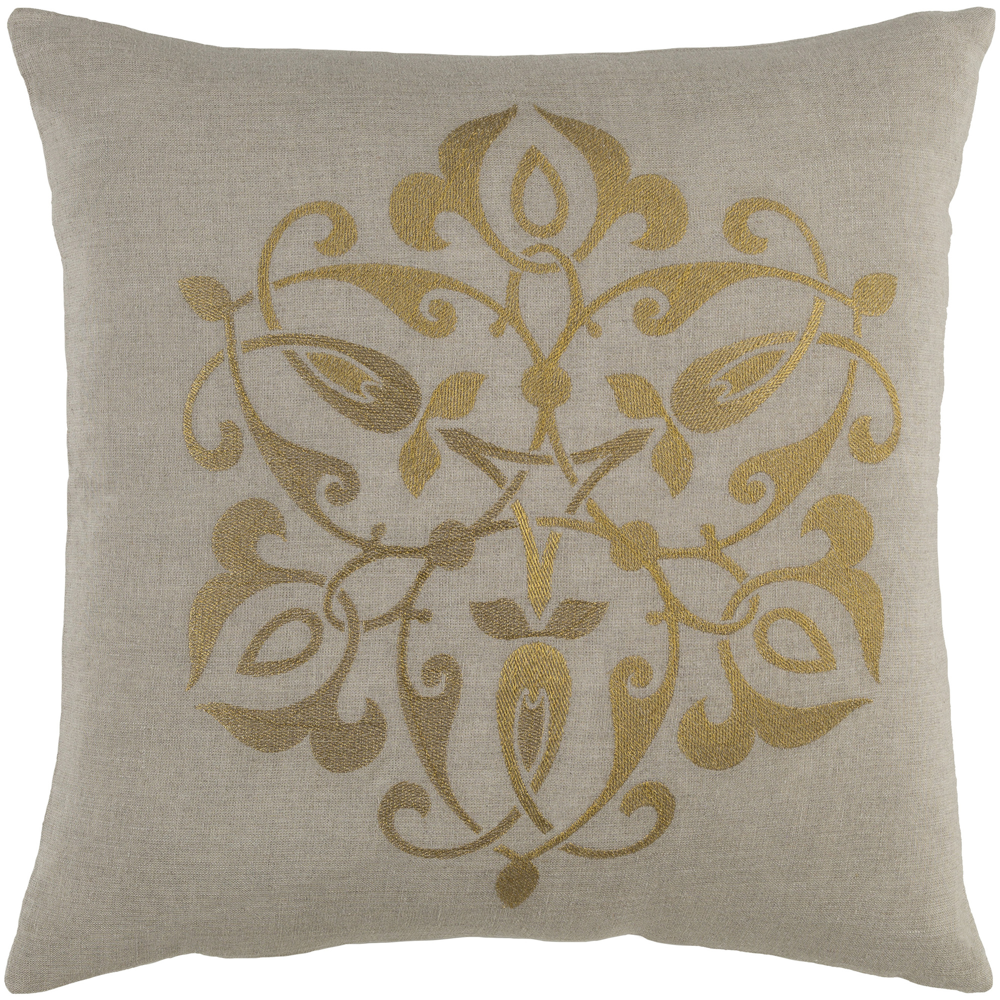 "Art of Knot Lanfranc 22"" x 22"" Pillow Cover"