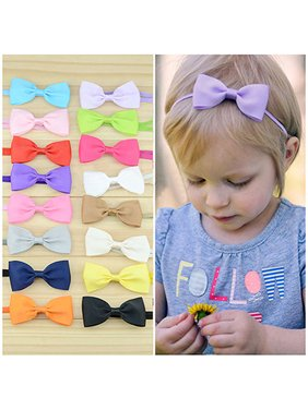 cd15bf9acce Product Image HiCoup 10Pcs Infant Baby Girl Cute Bow Headband Newborn Hair  Band Headdress Headwear