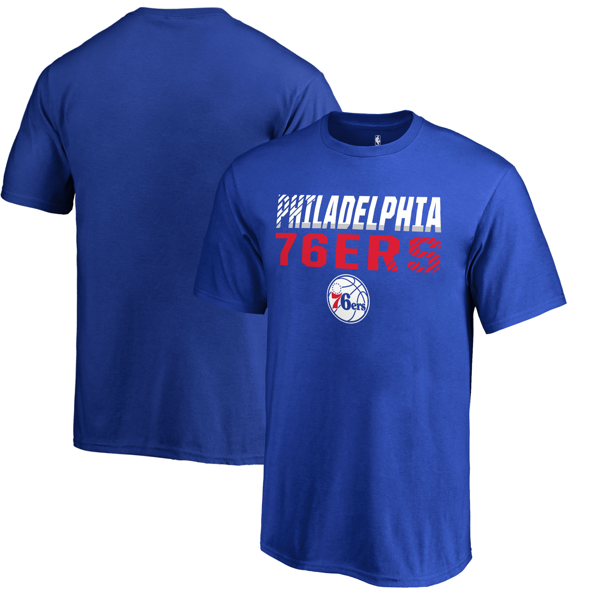 Philadelphia 76ers Fanatics Branded Youth Fade Out T-Shirt - Royal