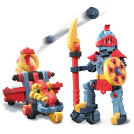 Dragon Knight And Catapult Building Kit By Bloco   Bc 25011