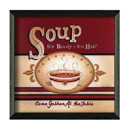 Timeless Frames Soup - It's Ready by Linda Spivey Framed Vintage Advertisement