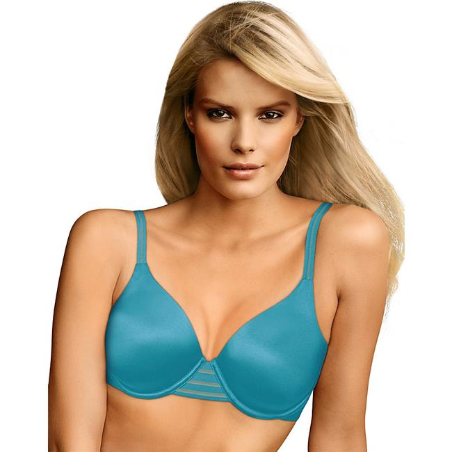 Maidenform 90563893706 Smooth Luxe Extra Coverage Back Smoother Bra, Turquoise Glaze - Size 38B
