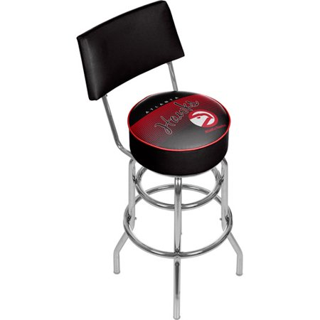 Atlanta Hawks NBA Hardwood Classics Bar Stool with Back by