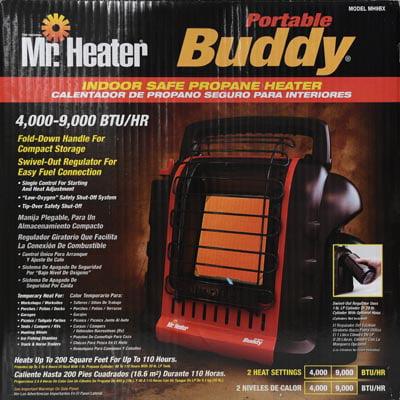Mr. Heater MH9BX 9000 BTU Propane Portable Buddy Heater