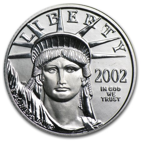 2002 1 4 Oz Platinum American Eagle Bu